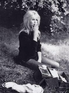 Beautiful Bardot in black