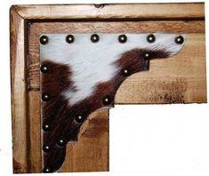 COWHIDE furniture | CowhideChevelMirror_13-201-CHEVEL_detail1-1676e