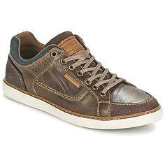 essentiele Dockers by Gerli malodoune heren sneakers (Bruin)