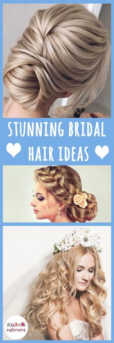For many, finding the perfect wedding hairstyle is crucial for the big day. You only get one choice so the pressure really is on to pick the best style to suit you.