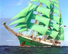 "Tall Ship ""Alexander von Humboldt"" (original source unknown)"