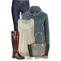 """Easy Fall Style"" by kginger on Polyvore"