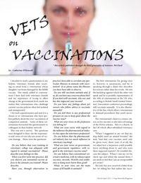 Vets On Vaccines - Digital Edition