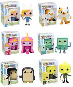 Funko - Pop vinyl - Adventure Time I want the first one Funk Pop, Disney Pop, Funko Figures, Vinyl Figures, Action Figures, Adventure Time, Funko Pop Dolls, Pop Figurine, Pop Toys