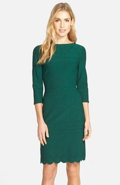 Julia Jordan Eyelet Sheath Dress available at #Nordstrom