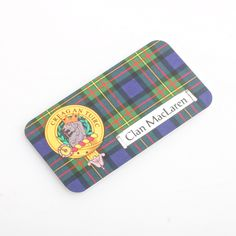 MacLaren Clan Crest Fridge Magnet