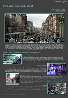 Buchanan Street Scotland's principal shopping street, and the heart of Glasgow.