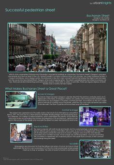 Buchanan Street Scotland's principal shopping street, and the heart of Glasgow.