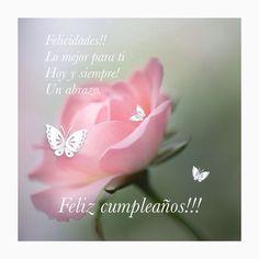 Happy Birthday Logo, Happy Birthday In Spanish, Happy Birthday Wishes Images, Happy Birthday Girls, Happy Wishes, Birthday Wishes Cards, Birthday Messages, Birthday Quotes, Birthday Greetings