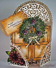 Joann Jamieson-Larkin for Heartfelt Creations | Friends House; Nov 2013