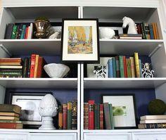 Shelf organizing