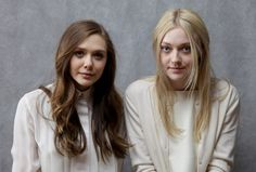 Elizabeth Olsen and Dakota Fanning at the Sundance Film Festival