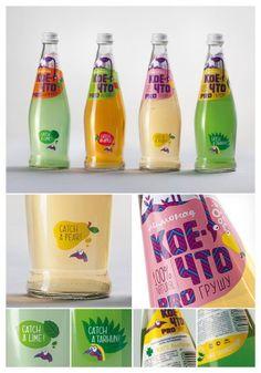 Lemonade design by Depot WPF for Megapack, Russia