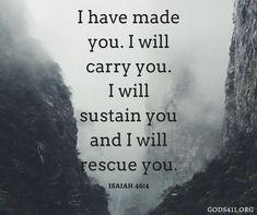 Isaiah 46:4 | Bible Verses