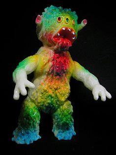 オリジナル怪獣ソフビ : エレガブ ブログ