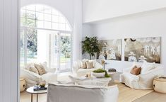 House 13 Australian Staycation – Formal Lounge Home Living Room, Living Area, Three Birds Renovations, Contemporary Cottage, Living Room Inspiration, Staycation, Future House, Modern Farmhouse, Family Room