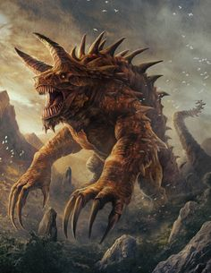 Tarrasque by JasonEngle
