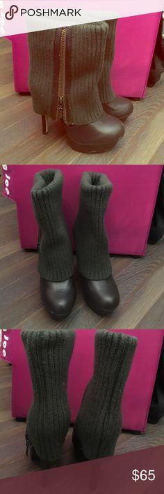 Selling this Zigi Soho sweater turnover platform boots on Poshmark! My username is: jwalther7. #shopmycloset #poshmark #fashion #shopping #style #forsale #Zigi Soho #Shoes