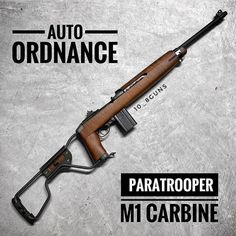 """be6fd04157383d  grey.wolf.tactical on Instagram  """"Auto Ordnance M1 Carbine  Paratrooper"""