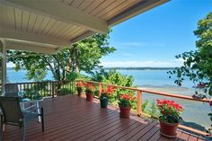 87 Raft Island Dr NW, Gig Harbor, WA 98335 | MLS #955133 - Zillow Washington Houses, Waterfront Homes For Sale, Rafting, Home And Family, Deck, Island, World, Building, Outdoor Decor
