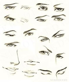 super ideas for drawing faces male eyes Realistic Eye Drawing, Guy Drawing, Manga Drawing, Drawing Faces, Drawing Tips, Drawing Sketches, Drawing People, Drawing Techniques, Male Face Drawing