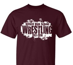 c19c07439 High School Impressions Custom Wrestling Team T Shirts - Create your own  design for t-shirts, hoodies, sweatshirts. Choose your Text, Ink and  Garment Colors ...