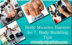 Jaldi Muscles Banane ke 7 Jaruri Body Building Tips Hindi Mein