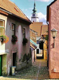 Barrio Judío de Trebic en República Checa Prague Spring, European Countries, Historical Architecture, Czech Republic, Places To Go, Traveling, World, The Neighborhood, Cities