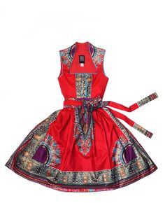 NOH NEE | Kollektion - Dirndl & Tracht African Fashion Ankara, African Wear, African Attire, African Women, African Dress, African Style, Ethnic Outfits, Ethnic Clothes, Oktoberfest Costume