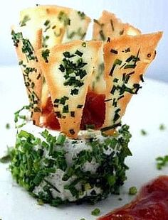 Mascarpone-Camembert Garlic-Herb Cheese.  Fast & easy vegetarian appetizer ... and other nice recipes