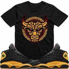 6ff32bc1944d Jordan Retro 13 Oak Hill Melo Match Sneaker Tees Shirt - TIKI BULLY RK  Matching Jordans