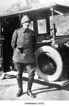 Mustafa Kemal Atatürk WWI times (today March 18 anniversary of the victory of Battle of Çanakkale [Gallipoli/Dardanelles] 18 March Republic Of Turkey, The Republic, Ottoman Turks, Turkish Army, The Turk, Cultural Identity, Great Leaders, Ottoman Empire, Historical Pictures