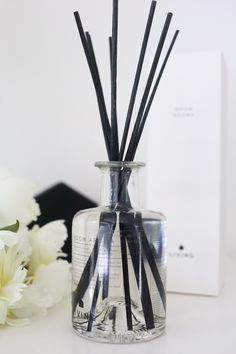 Housekeeping, Diffuser, Lounge, Packaging, Bath, Interiors, Cosmetics, Black And White, Detail