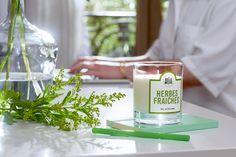 Herbes Fraîches - #LaBelleMeche #BougieParfumee #ScentedCandle #lifestyle - Photographe : Blaise Arnold - Production : La Fabrique de Mai
