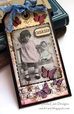 Friends in Art  - Darla Tag from REDlead products; this is so sweet...