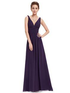 062e20fb678 Ever-pretty - Ever-Pretty Women s Elegant Long V-Neck Sleeveless  Semi-Formal Evening Prom Party Bridesmaid Maxi Dresses for Women 09016  (Floral 4 US) ...