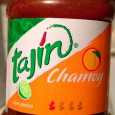 I love tajin... but with PEACH? wow.