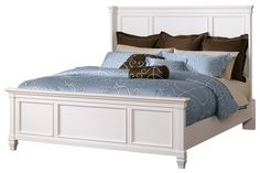 The Richly Detailed Mission Design Of The Cross Island Bedroom Collection Captures The Beauty