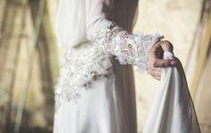 Vestidos de novia con flores bordadas, ¡caerás rendida!