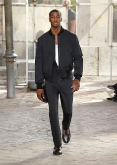 On the catwalk at Givenchy Spring-Summer 2016 Men Fashion Show #PFW #RTW #SS16 #Givenchy #LVMH