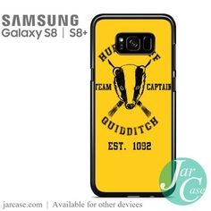 hufflepuff quidditch Phone Case for Samsung Galaxy S8 & S8 Plus