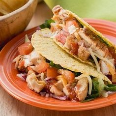 A fun fiesta dinner is a snap to whip  up. To make our super-speedy tacos, use a package of store-bought taco seasoning and ground beef.