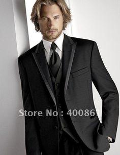 Classic Men's Wedding Dress Bridegroom Prom Clothing Groom Tuxedos (jacket+pants+tie+vest) on AliExpress.com. $135.00