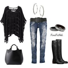 """""""Houseparty Outfit #2"""" by #kimskienails on Polyvore"""