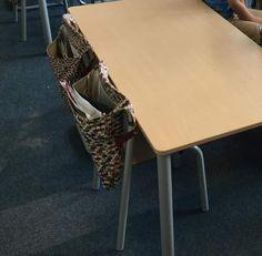 tassen voor de eigen materialen om mee te nemen naar de flexibe me werkplek