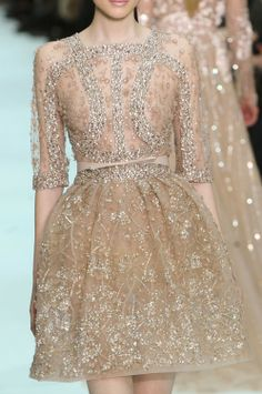 Elie Saab Couture S/S gorgeous dresses. Elie Saab Couture, Pretty Dresses, Beautiful Dresses, Gorgeous Dress, Lacy Dresses, Gorgeous Gorgeous, Absolutely Stunning, Beautiful Bride, Beautiful Images