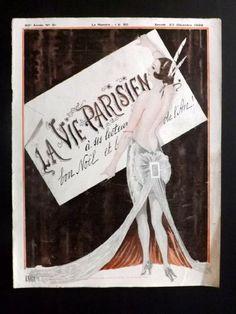 Georges Léonnec (1881 – 1940). La Vie Parisienne, 23 Décembre 1922. [Pinned 26-iii-2015]