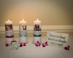 Class Reunion Memorial Table Ideas perhaps we should do a memory table memory table columbia central high school class of 1981 reunion columbia tennesse Handmade Wedding Signs Diy Memorial Candles For Memorial Table Httpbejeweledcrafts