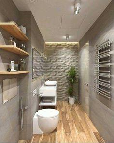 """DIA CRIATIVO (@diacriativo) no Instagram: """"Banheiro charmoso. Mistura de texturas que deram muito certo. . Se o projeto for seu, avise no…"""""""
