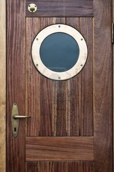 Old ship door.